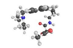 Acetato di Roxatidine, una droga dell'antagonista usata per trattare ulc gastrico fotografia stock libera da diritti
