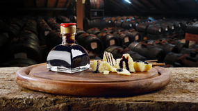 Aceto balsamico e acetaia royalty free stock images