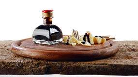 Aceto-balsamico e grana Lizenzfreies Stockfoto