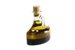 Aceto balsamico ed olio Fotografia Stock Libera da Diritti