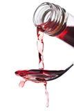 Aceto del vino rosso Fotografia Stock