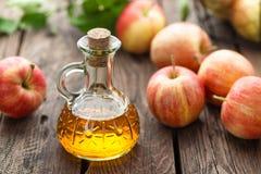 Aceto di sidro di Apple Immagini Stock