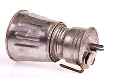 Acetylene lamp Stock Photography