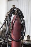 Acetylenflasche Stockbilder