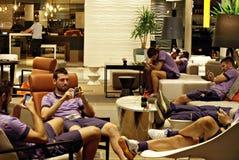 ACF Fiorentina fotografia de stock royalty free