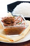 Achaar Gosht - Lamb Curry Stock Image