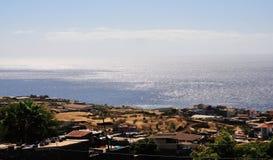 Achada-Sao Filipe Expanding Lizenzfreie Stockfotografie