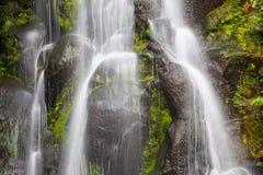 Achada-Wasserfall, Sao Miguel, Azoren Lizenzfreies Stockbild