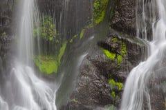 Achada waterfall,Sao Miguel, Azores Royalty Free Stock Photography