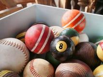 Achado do sótão do vintage de Eightball Fotos de Stock Royalty Free