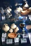 Achados arqueológicos das épocas romanas fotografia de stock royalty free