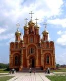 Achairsky Monastery. Achair. Omsk Stock Photos
