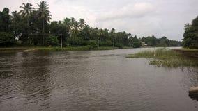 Achankovil rzeka w Kerala obrazy royalty free