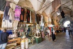 Achat à Jérusalem Photos libres de droits