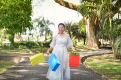Achat de femmes Photographie stock libre de droits