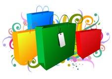achat de sacs Photographie stock libre de droits