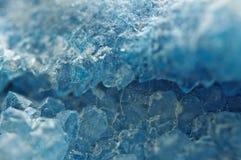 Achat ist eine cryptocrystalline Vielzahl des Kristallquarzes Makro Lizenzfreie Stockbilder
