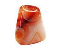 Achat mit geologischem Kristall des Chalcedony Lizenzfreie Stockfotos