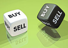 Achat ou vente de l'investissement 3d Photographie stock libre de droits