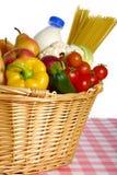 Achat pour la nourriture Photographie stock libre de droits