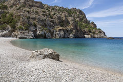Achata beach on Karpathos island, Greece Stock Photography