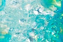 Achatkristall-Schnittabschluß oben Lizenzfreies Stockbild