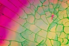 Achatkristallschnitt Stockbild