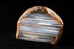 Achatmineraledelstein Lizenzfreie Stockbilder