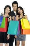 achats asiatiques de beauté photo libre de droits