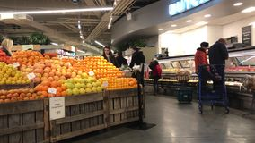 Achats chez Whole Foods clips vidéos