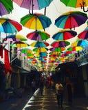 Achats colorés Photos libres de droits
