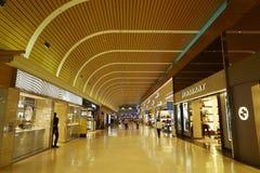 Achats d'aéroport Images libres de droits