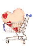 Achats d'amour Photographie stock libre de droits