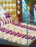 Achats de bijoux Marché grand de Téhéran Images stock
