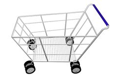 achats de chariot Image libre de droits