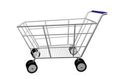 achats de chariot Photographie stock libre de droits