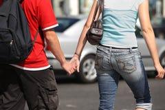Achats de couples Photos libres de droits