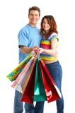 achats de couples Photographie stock libre de droits
