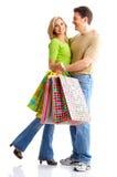 achats de couples Photographie stock
