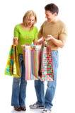 achats de couples Images libres de droits
