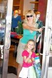 achats de famille Photo libre de droits