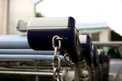 achats de gisement de chariots de cadre Photos stock