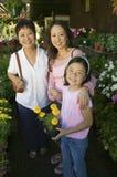 Achats de grand-mère, de mère et de descendant image libre de droits