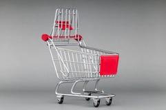 achats de l'image 3d produits par chariot Photo stock