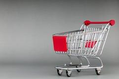 achats de l'image 3d produits par chariot Photographie stock