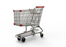 achats de l'image 3d produits par chariot Image libre de droits