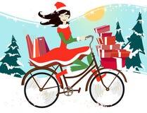 Achats de Noël Photos stock