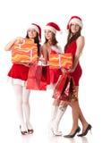 Achats de Noël. Images stock