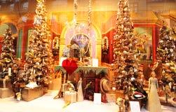 Achats de Noël photo libre de droits