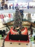 Achats de Noël, idée pour votre conception Photos libres de droits